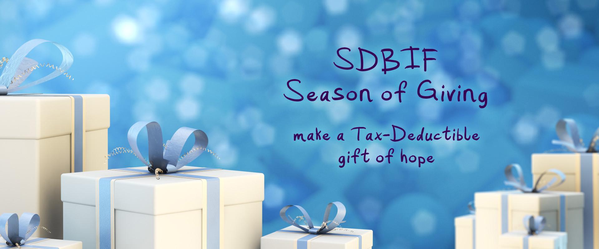 2018 SDBIF Season Of Giving