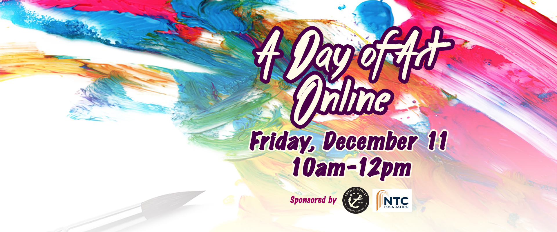 Day of Art ***ONLINE***