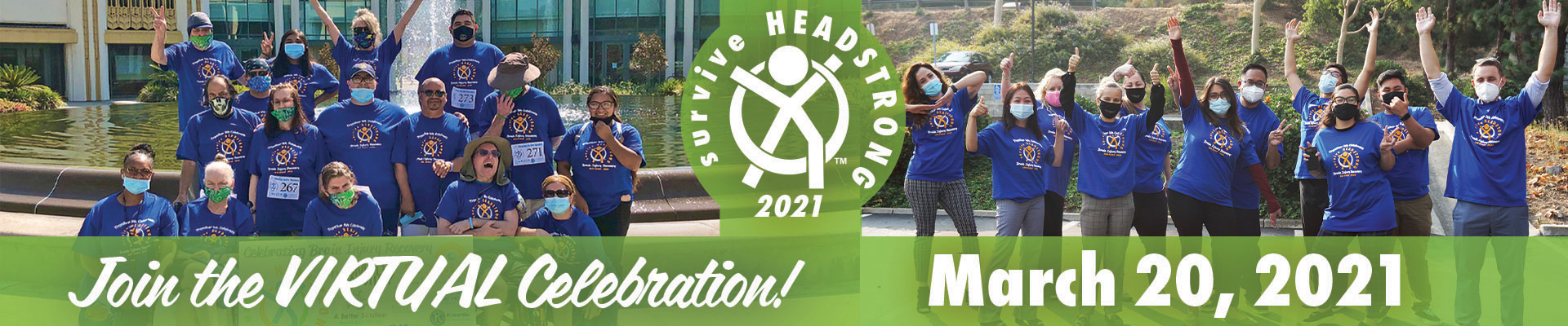 2021 surviveHEADSTRONG Get Involved Banner