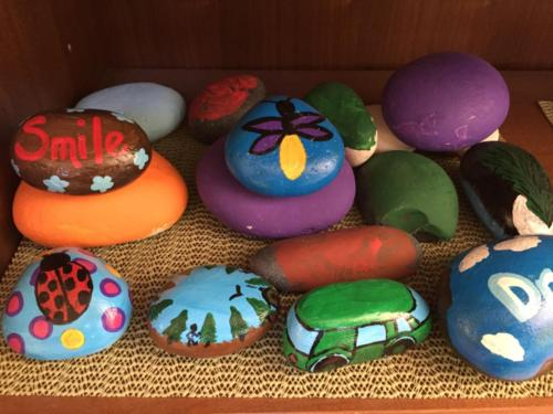 HH Painted Rocks